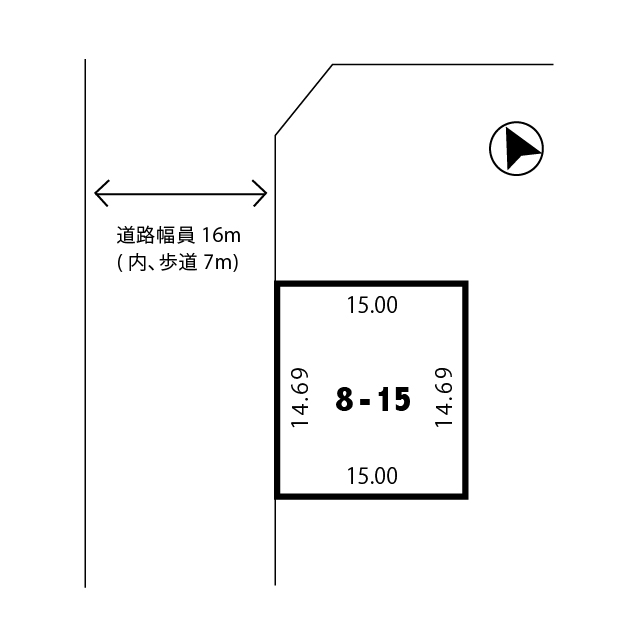 2c201fb218f804f5fee22e1bf16f383b - 【売土地】建築条件なし|敷地面積220.35㎡(66.66坪)|間口14.4m|京都府木津川市州見台
