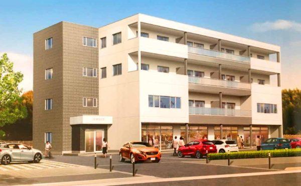 5c52741b1d8e96c0c99784a0ee66e7d5 600x371 - 城山台の新築ビルの貸テナントと事務所。2020年4月中旬入居開始。メイン通り沿い。角地。