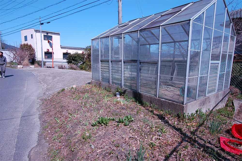 グリーンハウス 大正時代の美しい古民家に温室と畑つき 木津川市加茂町大野