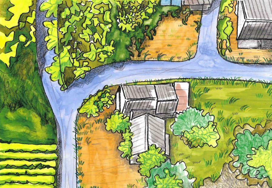 7c7d654d982105d7a7a12b3c4ee39f63 1 - 【加茂町古家付き売土地】畑や山林もあり、のんび~り田舎暮らしするのにぴったりです。恭仁小学校区です!