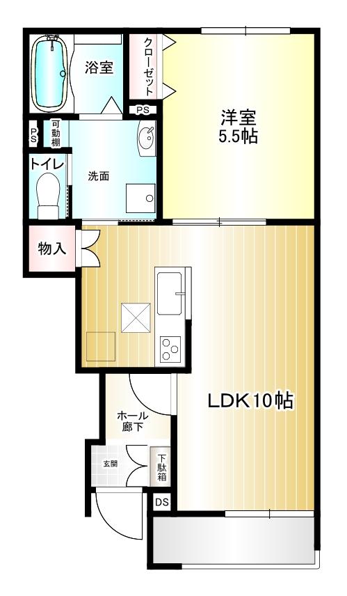 7d5d846d03280645df2a0bb670737a59 1 - 【ご成約済】奈良市白毫寺で賃貸アパートをお探しの方におすすめ1LDK(1階)