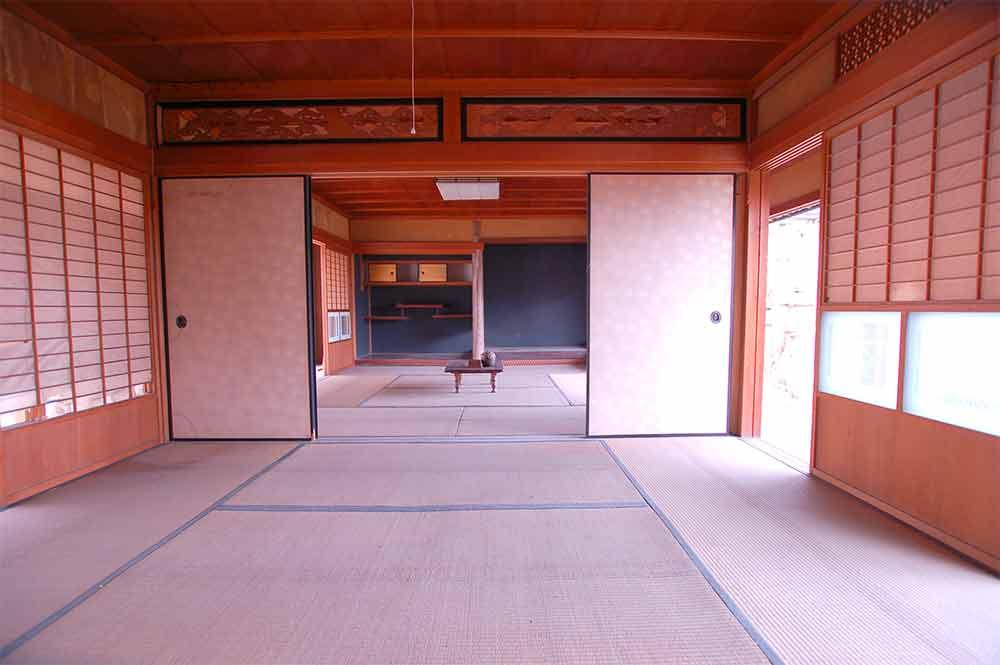 2部屋 大正時代の美しい古民家に温室と畑つき 木津川市加茂町大野