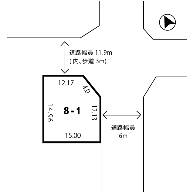 d57aa2f813f2d054a53d2f76801cc848 - 【売土地】残り1区画!!|建築条件なし|角地|敷地面積220.25㎡(66.63坪)|2方北東角地|京都府木津川市州見台