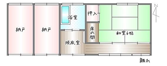 image 2 - 【ご成約済】田舎暮らしを賃貸の古民家から!納屋・倉庫・8LDK・自宅に作業場!