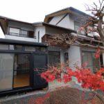 木津川台1丁目 5LDK サンルーム(テラス)・庭・吹き抜けリビングのある家